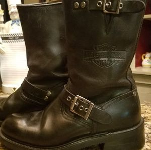 Riding Motorcycle Boots